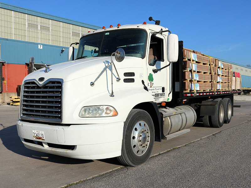 Chesapeake Plywood Delivers Imported Plywood