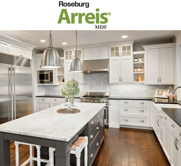 Roseburg Arreis MDF - Wholesale Plywood - Chesapeake Plywood