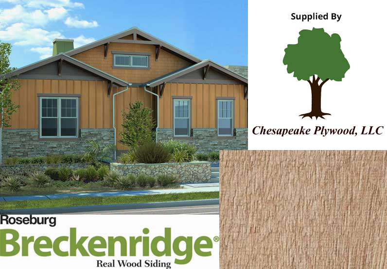 Roseburg Breckenridge Siding – Plain With Board and Battan