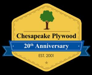 20th Anniversary Chesapeake Plywood
