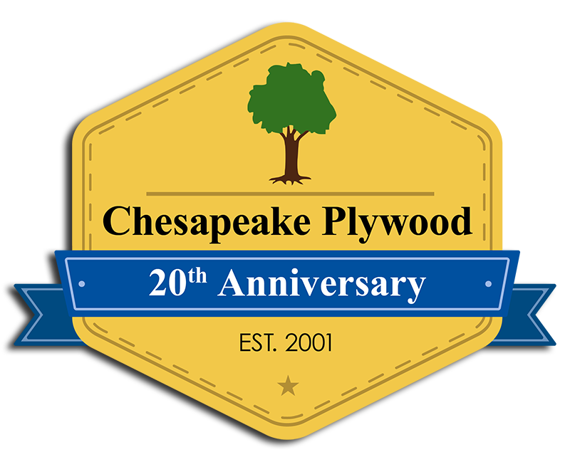 20th Anniversary Chesapeake Plywood